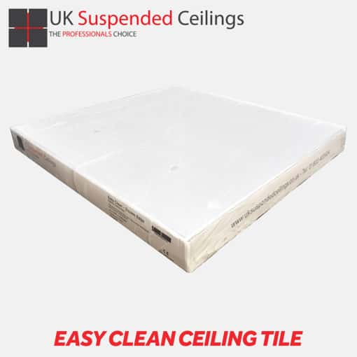Easy Clean Ceiling Tile | UK Suspended Ceiling Tiles